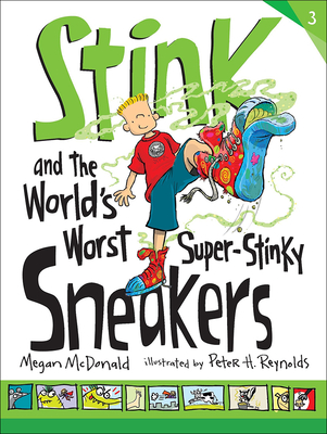 Stink and the World's Worst Super-Stinky Sneakers (Stink (Numbered Pb) #3) Cover Image