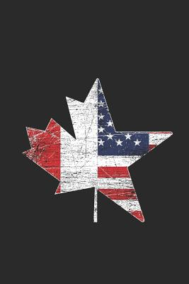 USA Canada: Graph Paper Notebook - Gift Idea For Canada Day Celebration Cover Image
