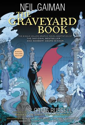 The Graveyard Book Graphic Novel Single Volume Cover Image