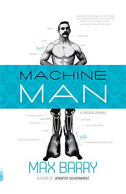 Machine Man Cover