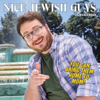 Nice Jewish Guys Wall Calendar 2020 Cover Image