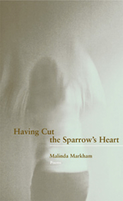 Cover for Having Cut the Sparrow's Heart