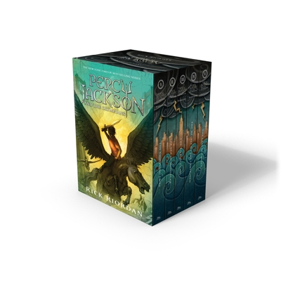 Percy Jackson & the Olympians Boxed Set Cover