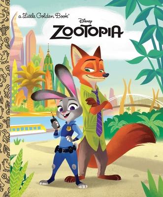 Zootopia Little Golden Book (Disney Zootopia) Cover Image