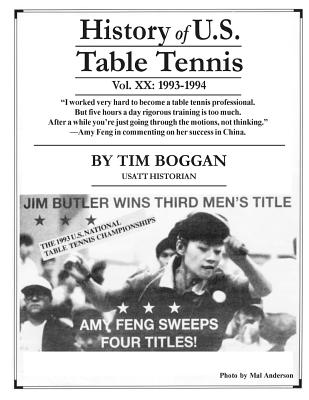 History of U.S. Table Tennis Volume 20 Cover Image