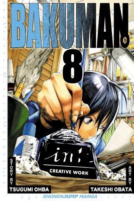 Bakuman, Volume 8 Cover