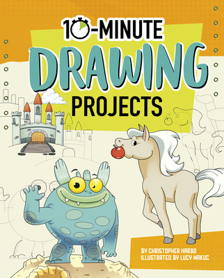 10-Minute Drawing Projects Cover Image