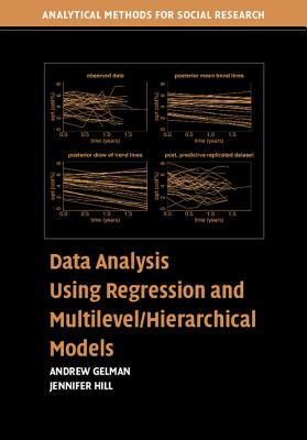 Data Analysis Using Regression and Multilevel/Hierarchical Models (Analytical Methods for Social Research) Cover Image