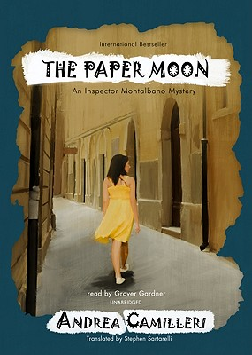 The Paper Moon (Inspector Montalbano Mysteries) Cover Image