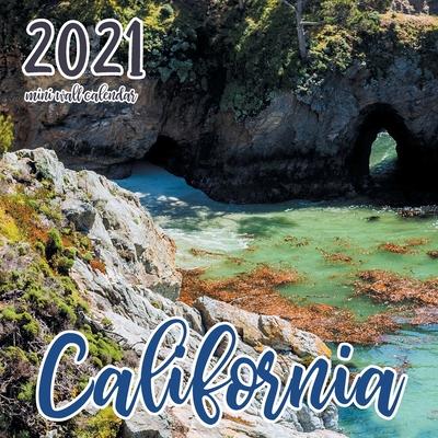 California 2021 Mini Wall Calendar Cover Image