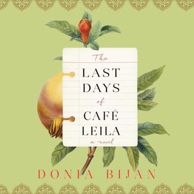 Cover for The Last Days of Café Leila
