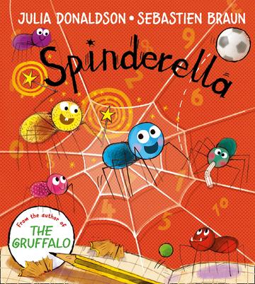 Spinderella Board Book Cover Image