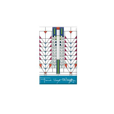 Frank Lloyd Wright Tree of Life Magnet Cover Image