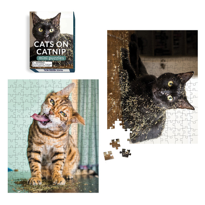 Cats on Catnip Mini Puzzles (RP Minis) Cover Image