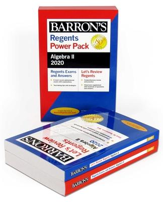 Regents Algebra II Power Pack 2020 (Barron's Regents NY) Cover Image