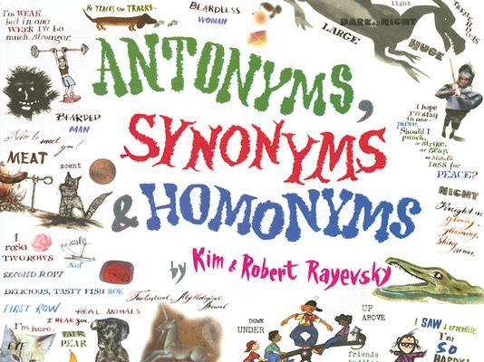 Antonyms, Synonyms & Homonyms Cover