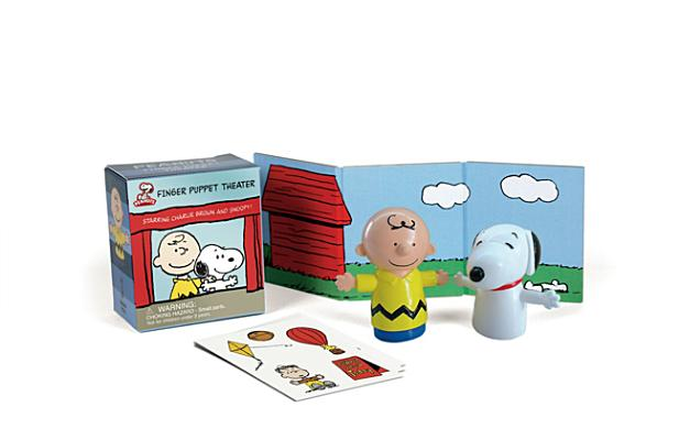 Peanuts Finger Puppet Theater: Starring Charlie Brown and Snoopy! (RP Minis) Cover Image