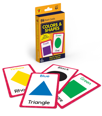 Colors and Shapes Flash Cards (Brighter Child Flash Cards) Cover Image
