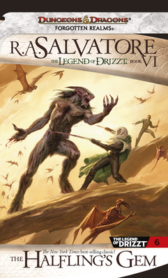 The Halfling's Gem (The Legend of Drizzt #6) Cover Image