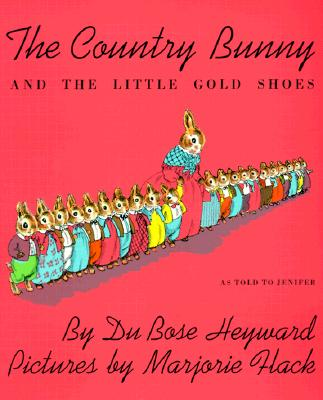 The Country Bunny and the Little Gold Shoes Book & Cassette Cover Image