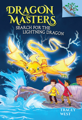 Search for the Lightning Dragon: A Branches Book (Dragon Masters #7) Cover Image