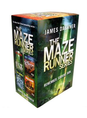 The Maze Runner Series (4-Book) Cover Image