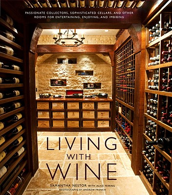 Living with Wine Cover
