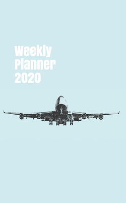 Weekly Planner 2020: handy calendar organizer for aviation enthusiasts. 5x8. 120 pages. (Flight #8) Cover Image