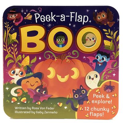 Boo (Peek a Flap) Cover Image