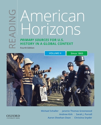 Reading American Horizons: Primary Sources for U.S. History in a Global Context, Volume II: Since 1865 Cover Image