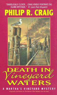 Death in Vineyard Waters: A Martha's Vineyard Mystery Cover Image