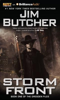 Storm Front (Dresden Files (Audio) #1) Cover Image