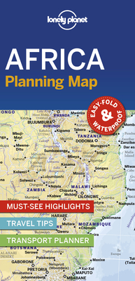 Lonely Planet Africa Planning Map 1 (Planning Maps) Cover Image