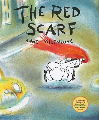 The Red Scarf Cover