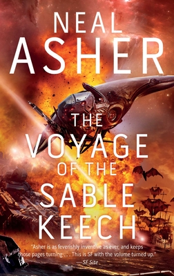 The Voyage of the Sable Keech: The Second Spatterjay Novel Cover Image