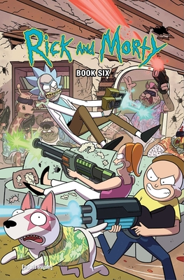 Rick and Morty Book Six: Deluxe Edition Cover Image