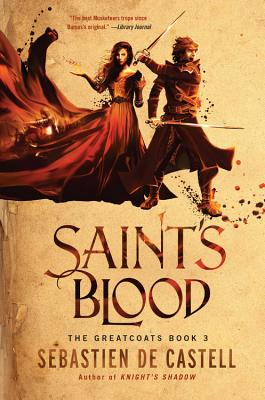 Saint's Blood (The Greatcoats #3) Cover Image