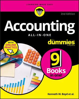 Accounting All-In-One for Dummies with Online Practice Cover Image