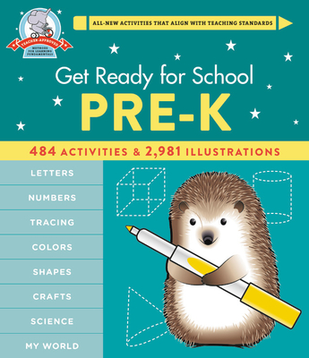 Get Ready for School: Pre-K (Revised & Updated) Cover Image