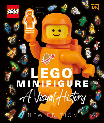 LEGO® Minifigure A Visual History New Edition: With exclusive LEGO spaceman minifigure! Cover Image