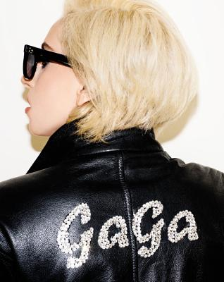 LADY GAGA x TERRY RICHARDSON Cover