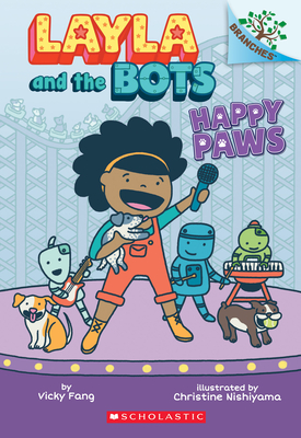 Happy Paws: Branches Book (Layla and the Bots #1) Cover Image