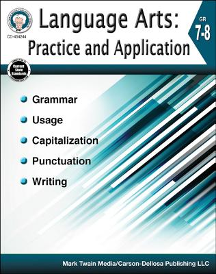 Language Arts: Practice and Application, Grades 7 - 8 Cover Image