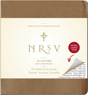 Large Print Bible-NRSV Cover