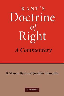 Cover for Kant's Doctrine of Right