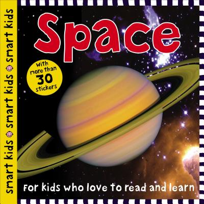 Smart Kids Space: with more than 30 stickers Cover Image
