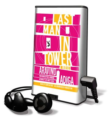 Last Man in Tower [With Earbuds] (Playaway Adult Fiction) Cover Image