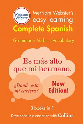 Merriam-Webster's Easy Learning Complete Spanish Cover Image