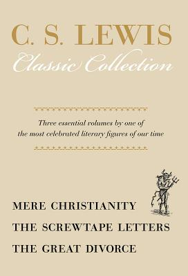 Mere Christianity/Screwtape Letters/Great Divorce - Box Set Cover Image