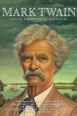 Mark Twain: Four Complete Novels Cover Image